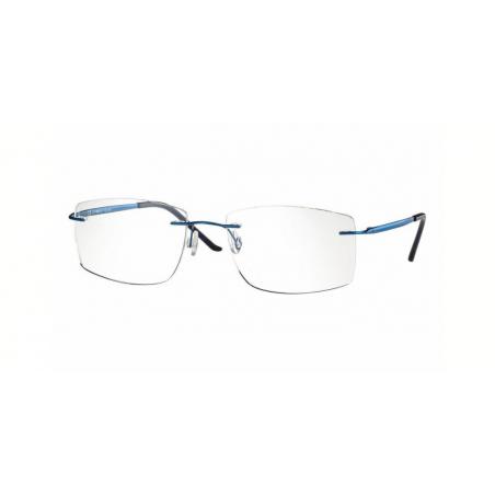 Centrostyle F 0248 shiny blue oprawka bezramkowa typu patent