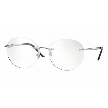 Centrostyle F 0249 shiny silver oprawka bezramkowa typu patent unisex