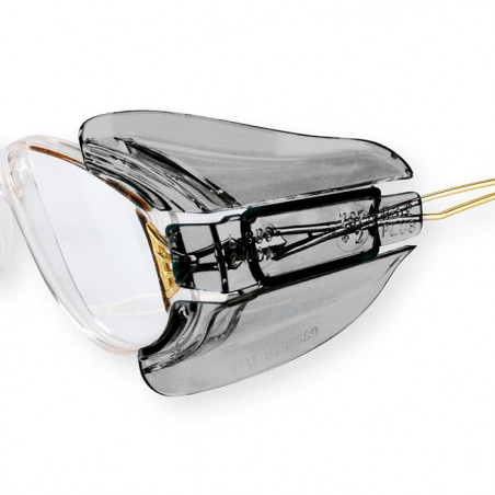 Osłony boczne do okularów korekcyjnych.