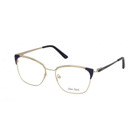 Damskie metalowe oprawki do okularów korekcyjnych Anne Marii AM 10303 C