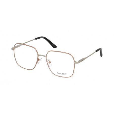 Damskie metalowe oprawki do okularów korekcyjnych Anne Marii AM 10306 A