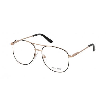 Damskie metalowe oprawki do okularów korekcyjnych Anne Marii AM 10307 B