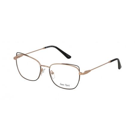 Damskie metalowe oprawki do okularów korekcyjnych Anne Marii AM 10308 A