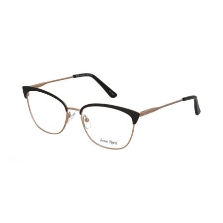 Damskie metalowe oprawki do okularów korekcyjnych Anne Marii AM 10309 C