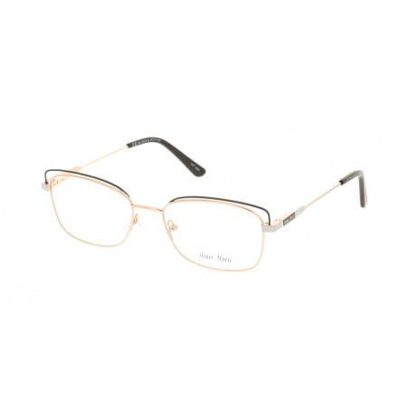 Damskie metalowe oprawki do okularów korekcyjnych Anne Marii AM 10315 B