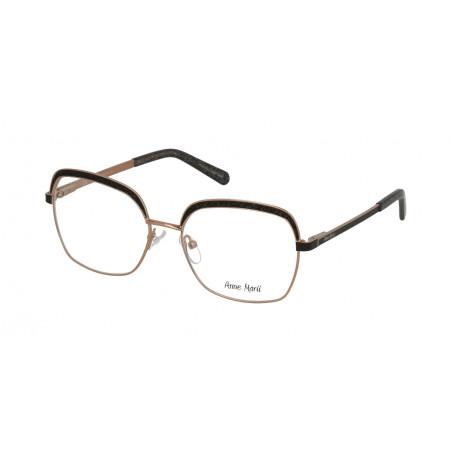 Damskie metalowe oprawki do okularów korekcyjnych Anne Marii AM 10323 A
