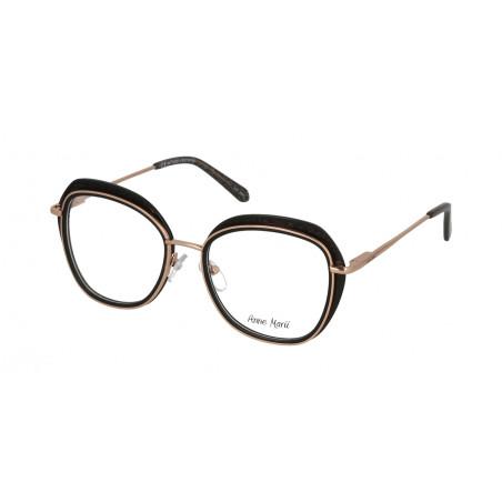 Damskie metalowe oprawki do okularów korekcyjnych Anne Marii AM 10325 A