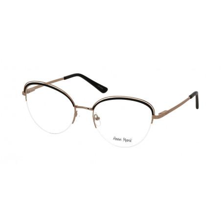 Damskie metalowe oprawki do okularów korekcyjnych Anne Marii AM 10329 A