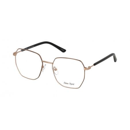 Damskie metalowe oprawki do okularów korekcyjnych Anne Marii AM 10339 A