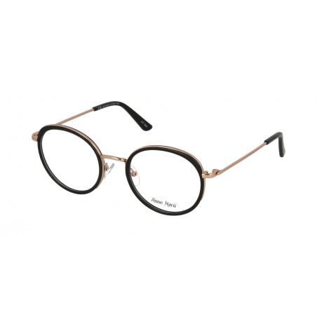 Damskie metalowe oprawki do okularów korekcyjnych Anne Marii AM 10340 A