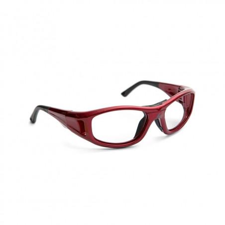 Okulary sportowe do korekcji dla dzieci LEADER C2 XS czerwony