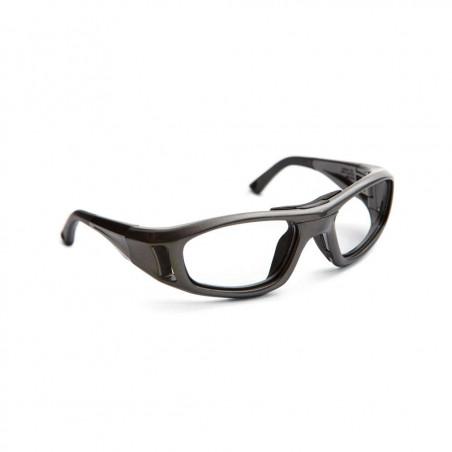 Okulary sportowe do korekcji dla dzieci LEADER C2 S metaliczny grafit