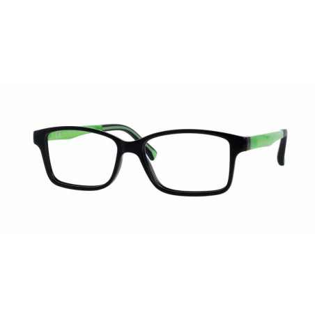 Oprawki do okularów korekcyjnych dla dzieci Active Colours Prostokątny 4-8 lat Czarny / Zielony