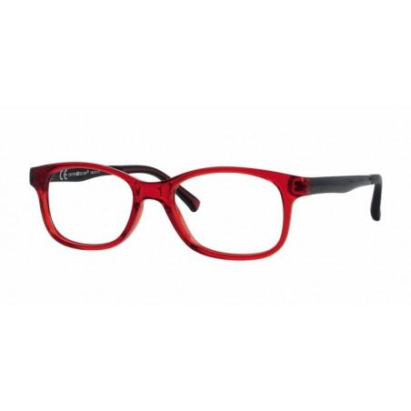 Oprawki do okularów korekcyjnych dla dzieci Active Colours 6-8 lat  Czerwony / Czarny