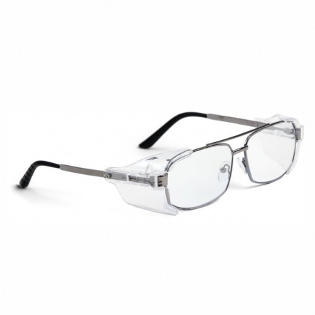 Okulary ochronne metalowe z...