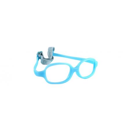 Oprawki do okularów korekcyjnych dla dzieci Miraflex Baby Plus EP niebieski perłowy