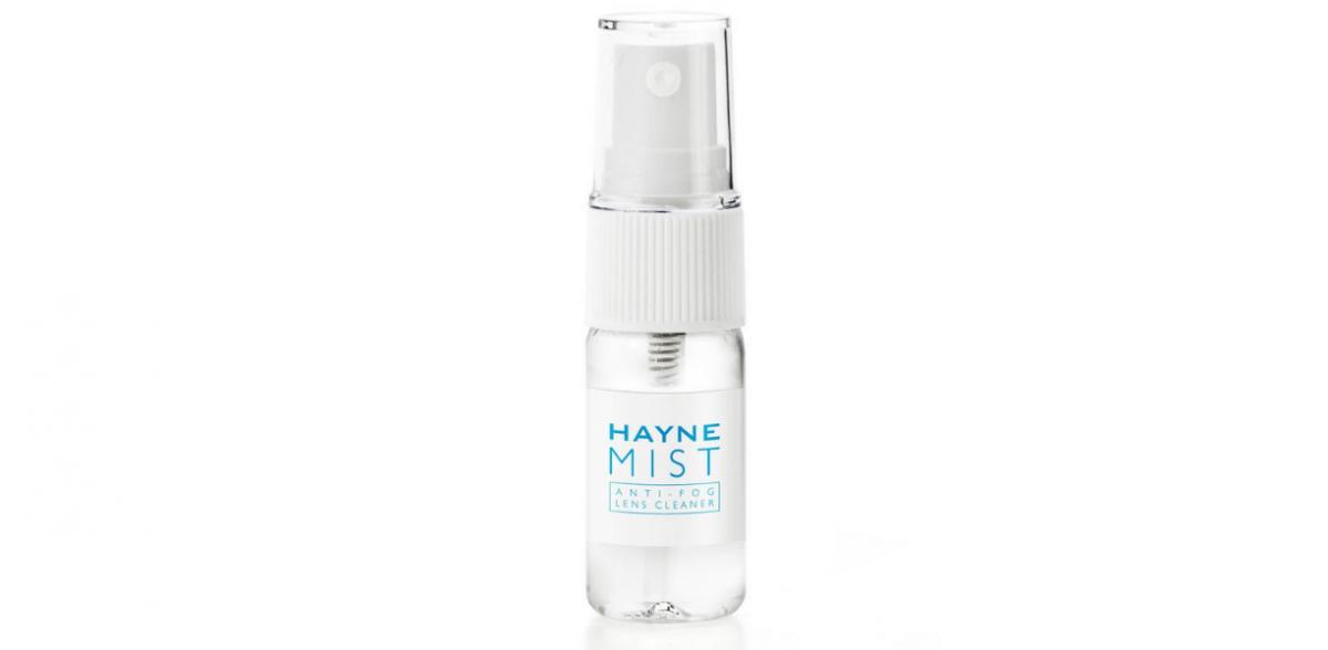 Płyn do czeszczenia okularów chroniący przed zaparowaniem Hayne Mist Anti-Fog lens cleaner
