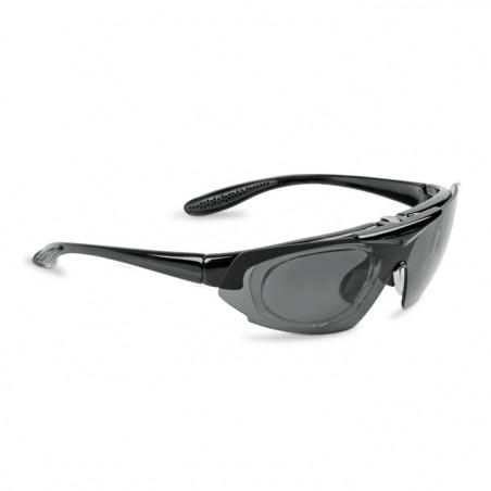 Okulary sportowe z możliwością korekcji LEADER SPIRIT czarny matowy