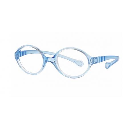 Oprawki do okularów korekcyjnych dla dzieci Active Spring Round Baby 2-4 lata Jasny niebieski