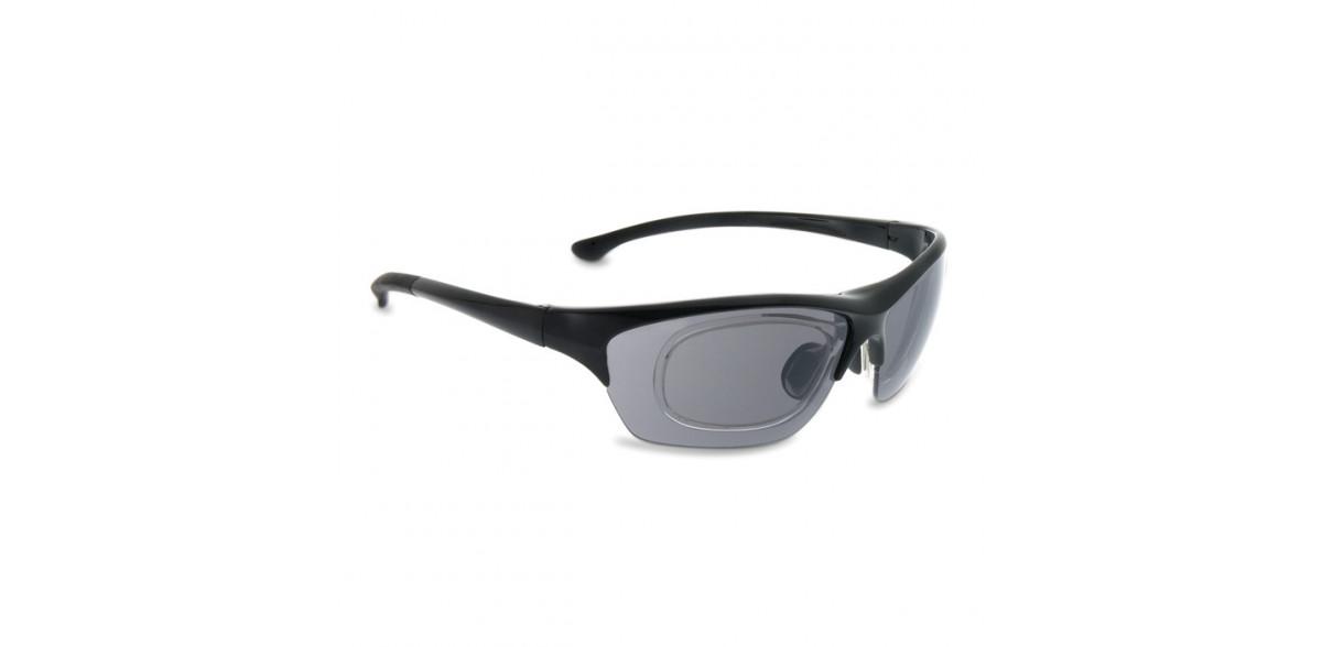 Okulary sportowe z możliwością korekcji LEADER TRAIL czarny matowy