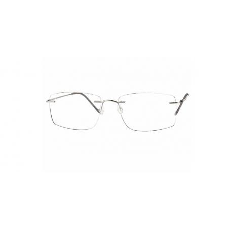 Centrostyle M.098 matt silver oprawka bezramkowa typu patent.