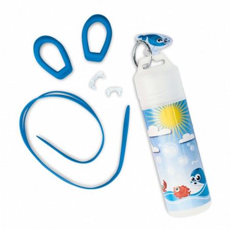 Okulary do pływania dla dzieci w kolorze niebieskim
