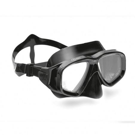 Maska do nurkowania z możliwością korekcji - czarna