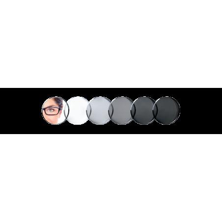 Essilor Orma 1,5 Transitions 8 Crizal Easy soczewki fotochromowe szary